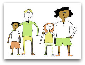 Positive parenting program illustration